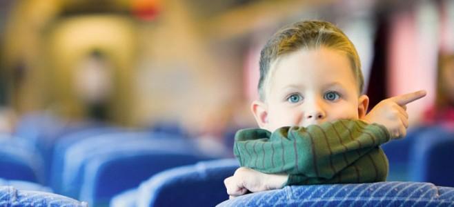 Дети в общественном транспорте