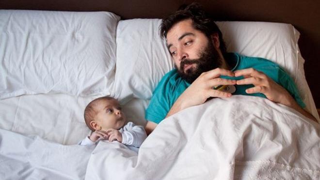 Отцы так же сильно привязаны к своим детям, как и матери