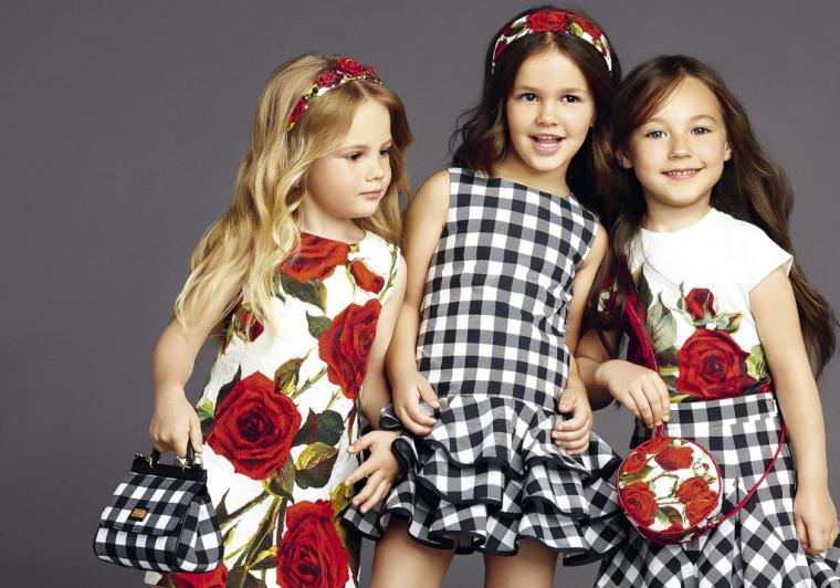 Модные принты в детской одежде 2016