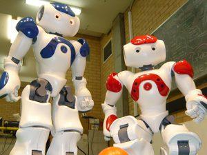 Ученые из Томска создали робота, который проводит занятия с гиперактивными детьми