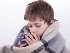 Что пить детям при простуде