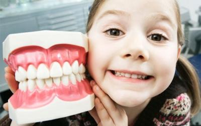 О здоровье зубов у детей.