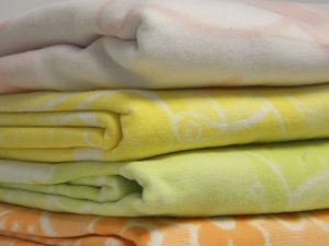 Байковое одеяло для новорожденных