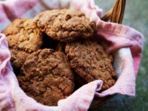 Овсяное печенье с цукатами «Апельсин»