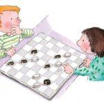 Как научить ребенка играть в шашки: правила игры, 2 варианта