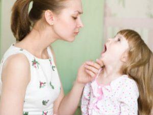 Ангина у детей: симптомы и методы лечения