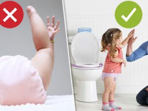 Как отучать ребенка от подгузников