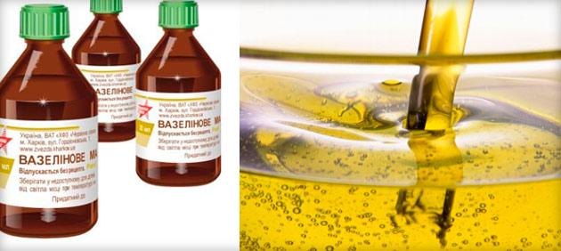 Вазелиновое масло для детей