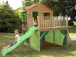 Строим детскую площадку в саду