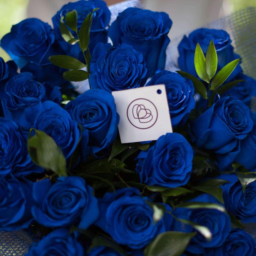 Как сделать синюю розу в домашних условиях