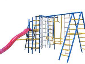Эффективный детский спортивный комплекс для занятий физкультурой на улице