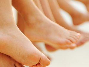 Причины плоскостопия у детей