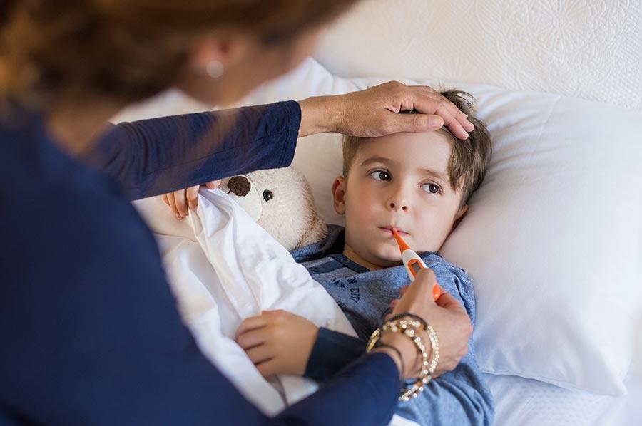От простуды и гриппа: что дать ребенку