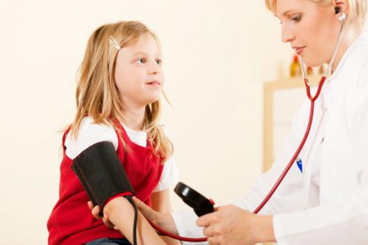 Давление у детей — нормальное, повышенное и пониженное