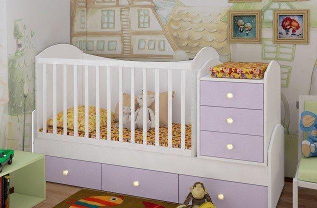 Детская кроватка: виды, преимущества и недостатки.