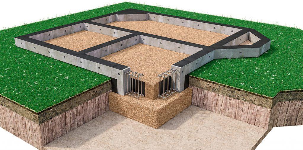 Тонкости постройки ленточного фундамента