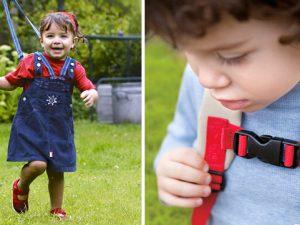Поводок вожжи для ребенка для безопасности и обучения ходьбе