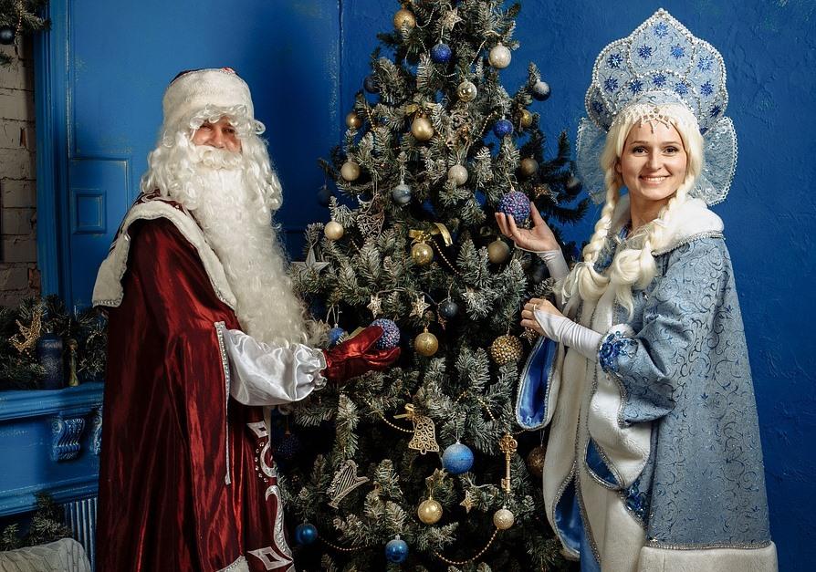 Веселый Новый год в компании Дедушки Мороза и Снегурочки