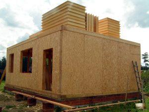 Сэндвич-панели и строительство домов из них
