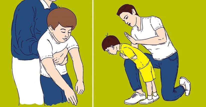 Что делать, если ребенок поперхнулся? Краткий гид по спасению жизни