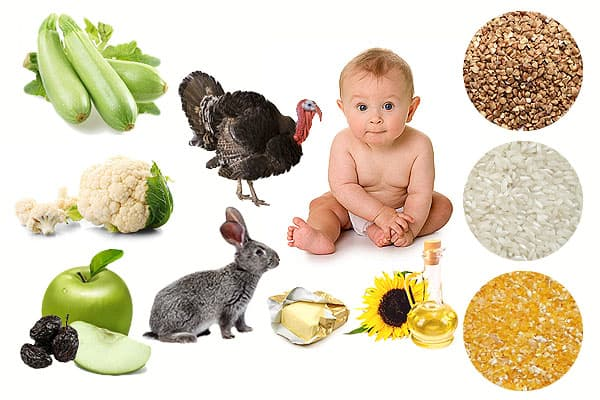 Какие продукты нужны для начала прикорма ребенка