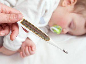 Температура у ребенка после болезни