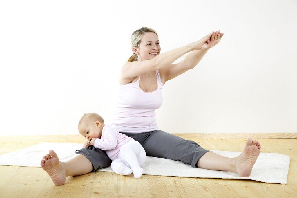 Кормление грудью и тренировки