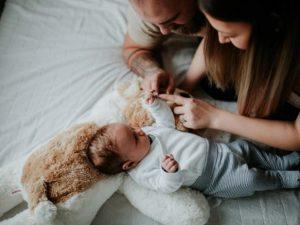 Колики в животе у ребенка