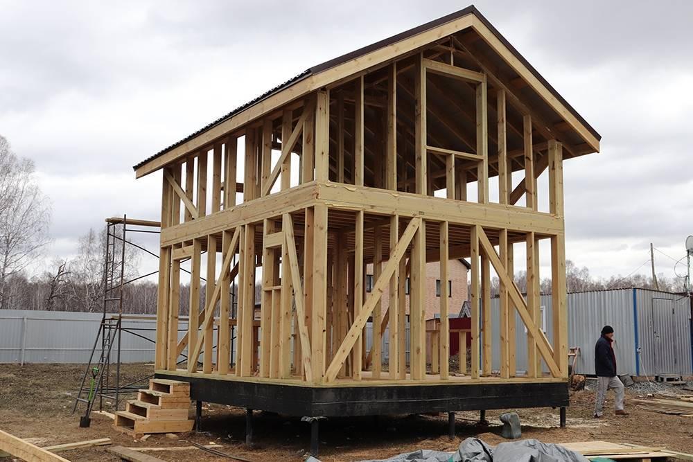 Как построить маленький дом на дачном участке своими силами: полезные советы